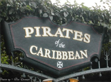 Pirates 40th Entrance Sign