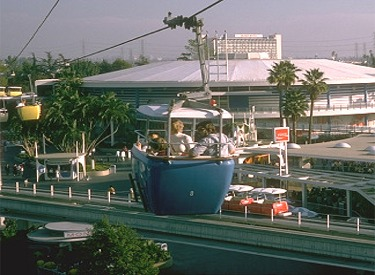 Skyway Buckets And Carousel Of Progress Building
