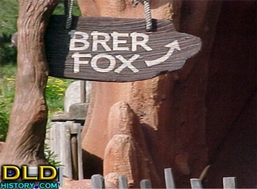 Sign For Brer Fox's Den