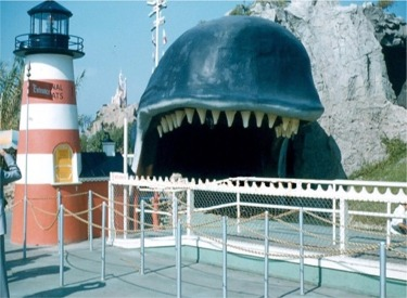 Monstro The Whale And Light House Ticket Booth