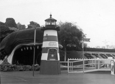 Monstro And Original Ticket Booth