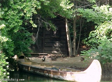 Canoe And Cabin