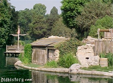 Tom Sawyer Raft And Island