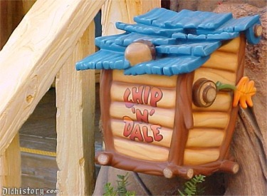 Close Up Of Chip 'N Dale Mail Box