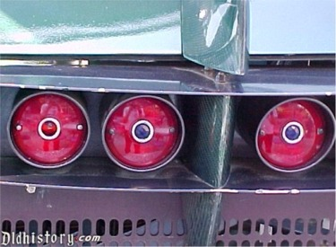 Close Up Of Rocket Rod Tail Lights