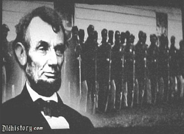 Abraham Lincoln And Black Soldiers