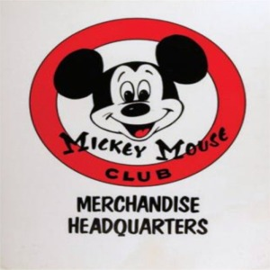 Mickey Mouse Club Merchandise Headquarters Sign