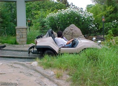 Autopia Car In Off road Section