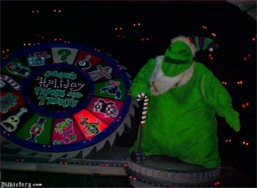 Oogie Boogie And Trick Or Treat Wheel