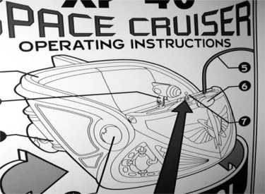 Space Cruiser Operating Instructions