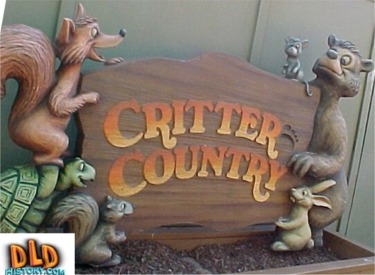 Critter Country Sign