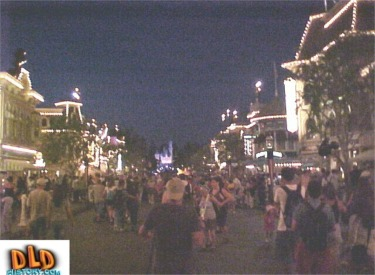 Nighttime August Crowds