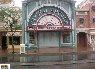 Crystal Arcade Closed For Refurbishment