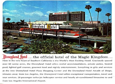 Disneyland Hotel Advertisement