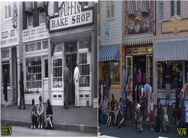 Main Street Buildings Then Now