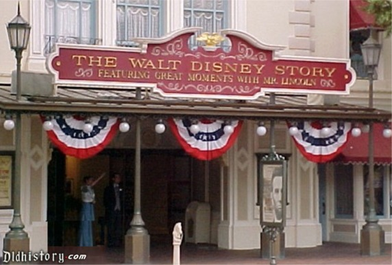 Walt Disney Story Featuring Great Moments With Mr Lincoln