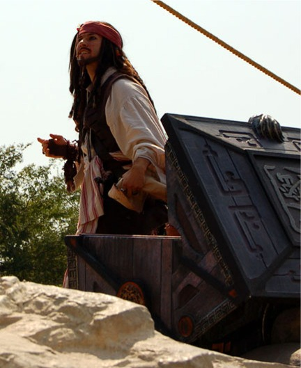 Pirate's Lair at Tom Sawyer Island