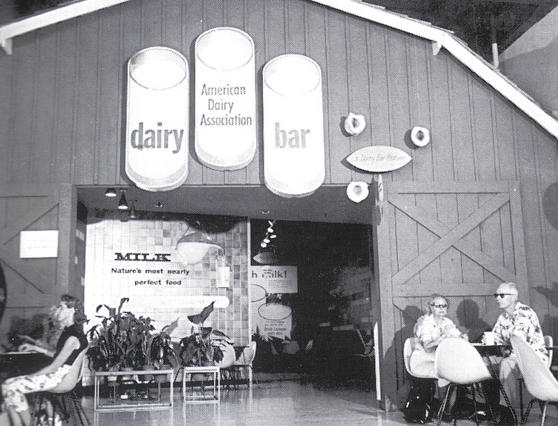 American Dairy Association Exhibit Poster