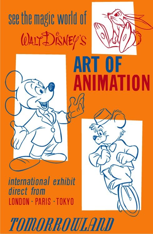 Art Of Animation Poster