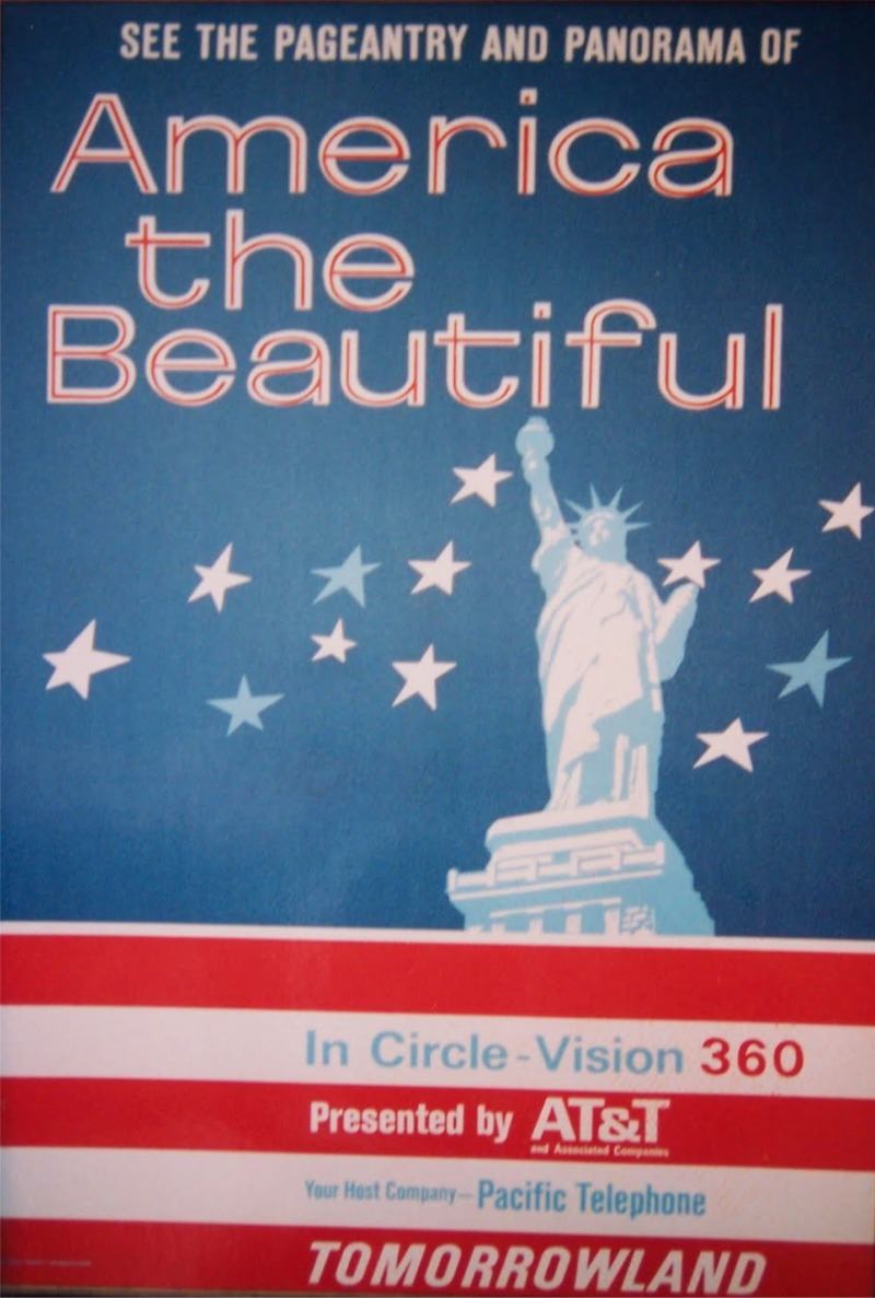 America The Beautiful (Circle-Vision 360) Poster