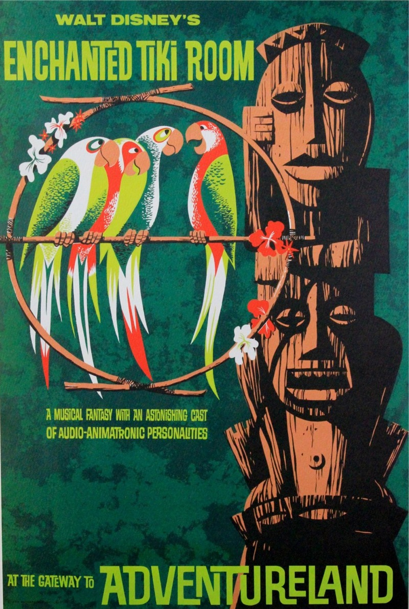 Enchanted Tiki Room Poster