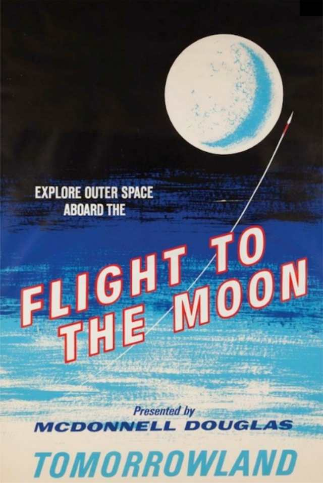 Flight To The Moon Poster