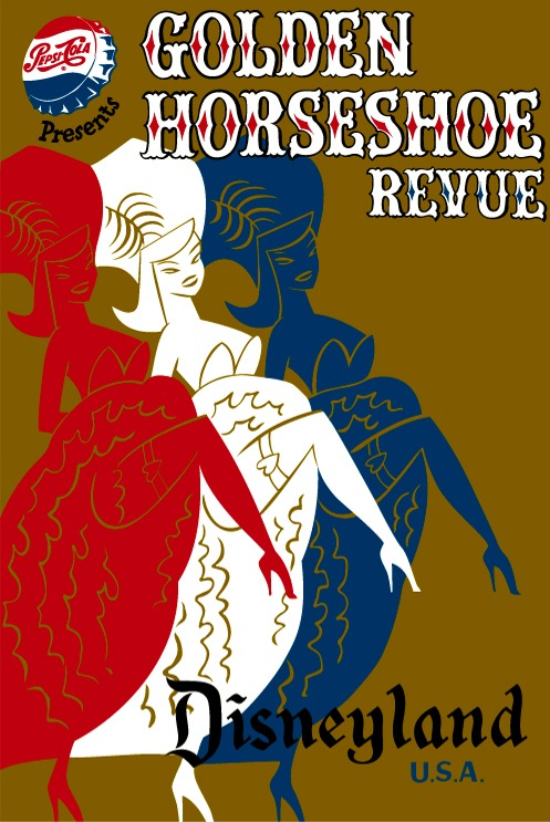 Golden Horseshoe Revue Poster