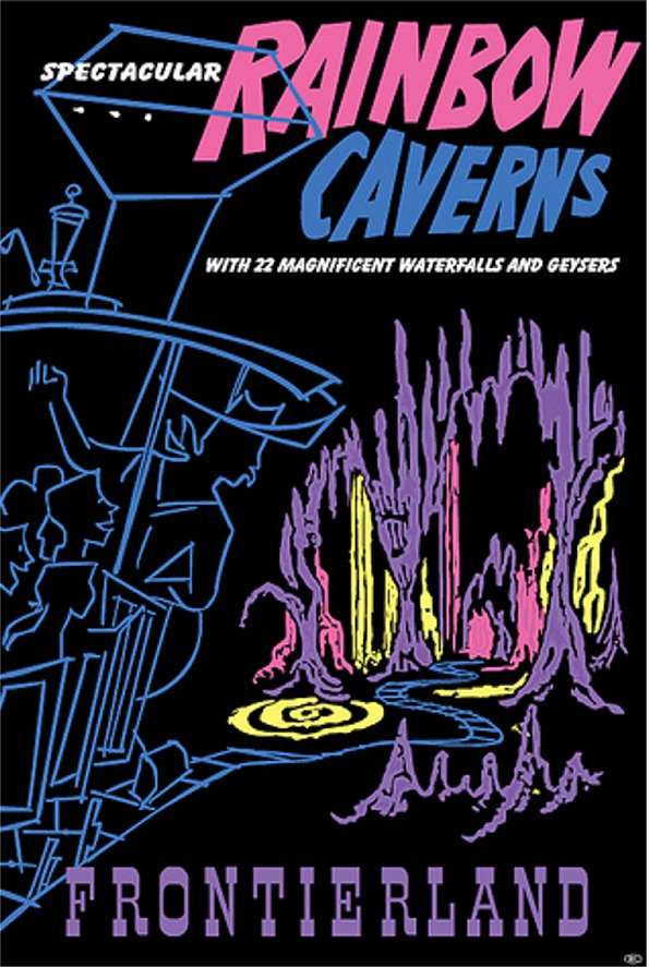 Rainbow Caverns Mine Train Poster