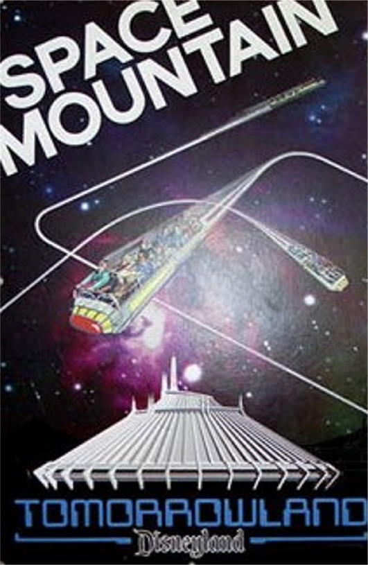 Space Mountain Poster