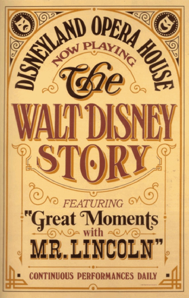 Walt Disney Story Featuring Great Moments With Mr Lincoln Poster