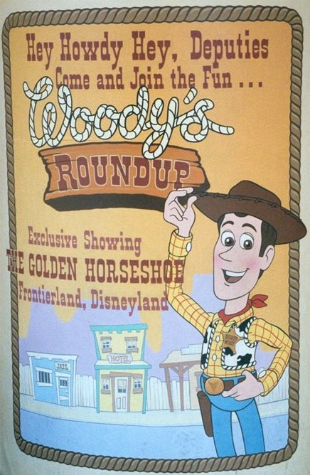 Woodys Roundup Poster