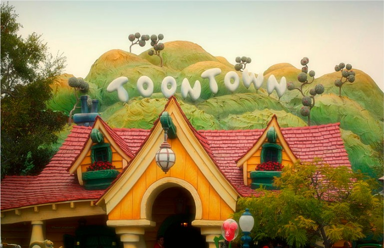Toon Town Poster