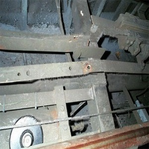 Damage To Track And Brake After Fatal Accident