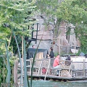 Entertainment Taking Set Pieces To Tom Sawyer Island