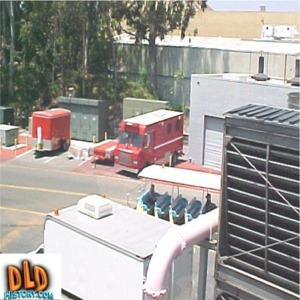 Chiller Plant And Emergency Vehicles