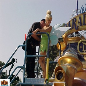 Safety Line Being Attached To Tinkerbell