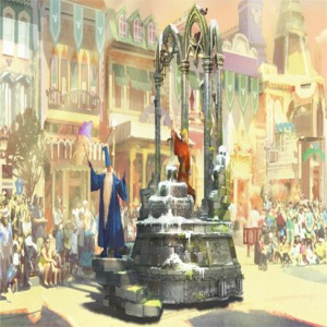 Merlin  Sword In The Stone Float Artist Concept