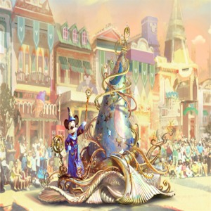 Mickey Mouse Float Artist Concept