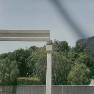Mark III Monorail Being Lifted From Truck