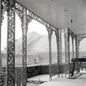 Inside Portico During Construction