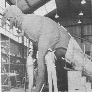 T-Rex Backstage Being Refurbished