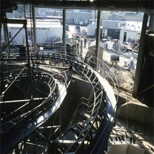 Space Mountain Construction Track