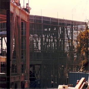 Construction Framework Show Building