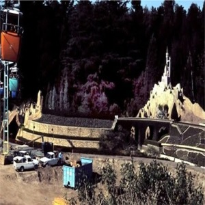 Storybook Land Canal Boats During New Fantasyland Construction