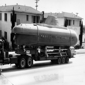 Submarine Being Transported To Disneyland