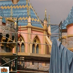 Close Up Of Detail After 50th Anniversary Refurbishment