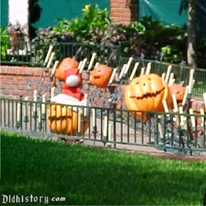 Jack-O-Lanterns And Candles Ready To Be Installed