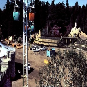 Storybook Land Fantasyland Construction