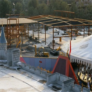 Fantasyland Construction