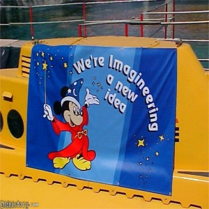 Original Imagineering Sign